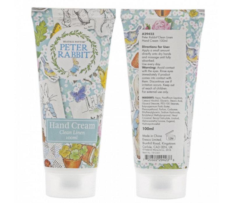 Beatrix Potter - Peter Rabbit Clean Linen Hand Cream 100ml