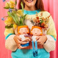Plant Mum Vase with Mini Planter - Sass & Belle