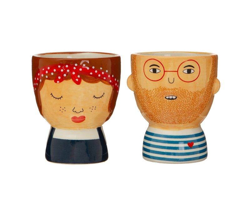 Libby & Ross Egg Cups (Set of 2) - Sass & Belle