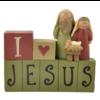 UniekCadeau UniekCadeau - I love Jesus (Nativity)
