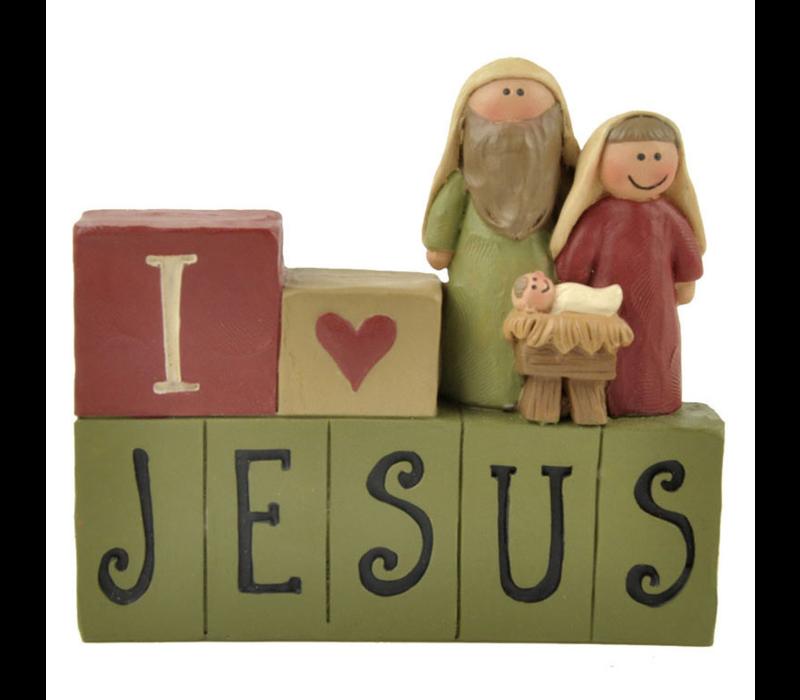 UniekCadeau - I love Jesus (Nativity)