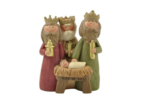 UniekCadeau King of Kings (Jesus with Three Wisemen) - UniekCadeau