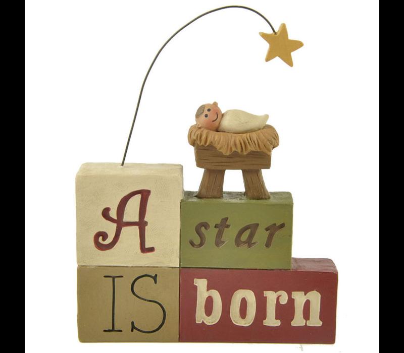 UniekCadeau - A Star is Born (Nativity with star)