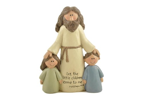 UniekCadeau Let The Little Children Come To Me (Jesus with children)  - UniekCadeau