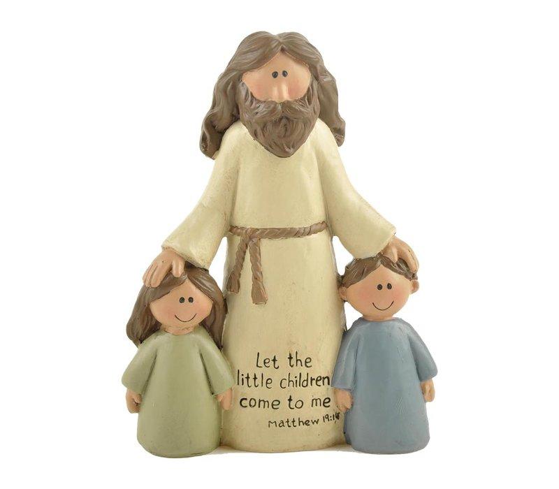 UniekCadeau - Let The Little Children Come To Me (Jesus with children)