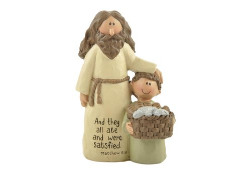 UniekCadeau And They All Ate (Jesus with boy) - UniekCadeau
