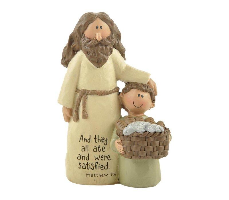 UniekCadeau - And They All Ate (Jesus with boy)