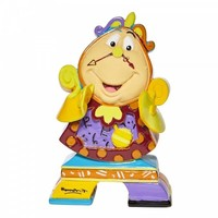 Disney by Britto - Cogsworth Mini (Beauty & The Beast)