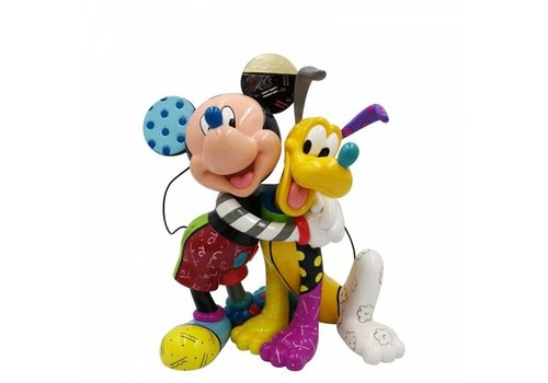 Disney by Britto Mickey and Pluto - Disney by Britto