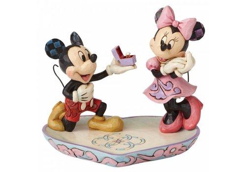 Disney Traditions A Magical Moment (Mickey Proposing to Minnie Mouse) - Disney Traditions