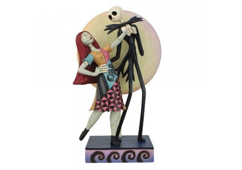 Disney Traditions A Moonlit Dance (Jack and Sally) - Disney Traditions