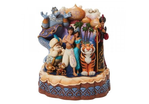 Disney Traditions A Wondrous Place (Carved by Heart Aladdin) - Disney Traditions