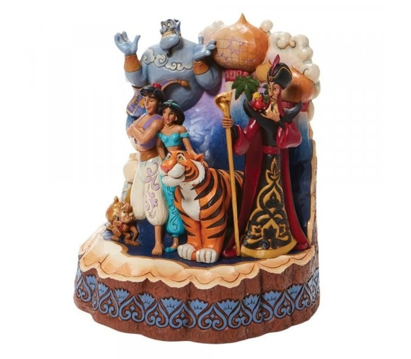 Disney Traditions - A Wondrous Place (Carved by Heart Aladdin)