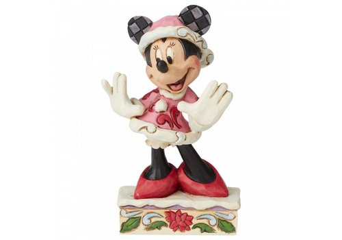 Disney Traditions Festive Fashionista (Minnie Mouse Christmas) - Disney Traditions