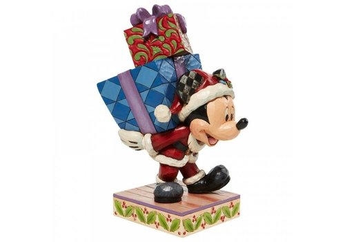 Disney Traditions Here Comes Old St. Mick (Mickey Carrying Gifts) - Disney Traditions
