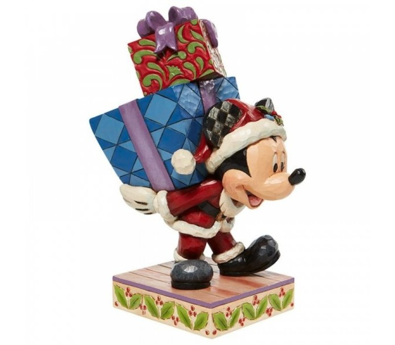 Disney Traditions - Here Comes Old St. Mick (Mickey Carrying Gifts)
