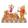 Disney Traditions Disney Traditions - Jumping into Fall (Piglet and Pooh Autumn Leaves)