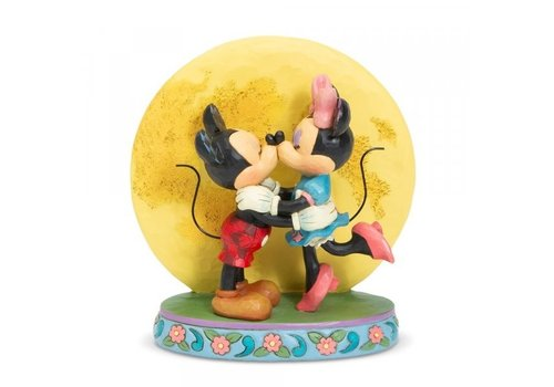 Disney Traditions Magic and Moonlight (Mickey and Minnie with Moon) - Disney Traditions