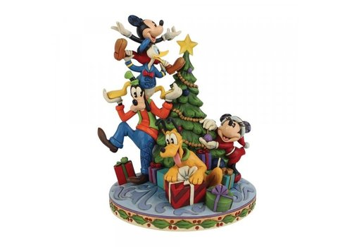 Disney Traditions Merry Tree Trimming (Fab 5 Decorating Tree) - Disney Traditions