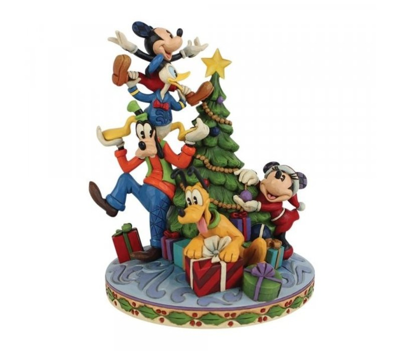 Disney Traditions - Merry Tree Trimming (Fab 5 Decorating Tree)