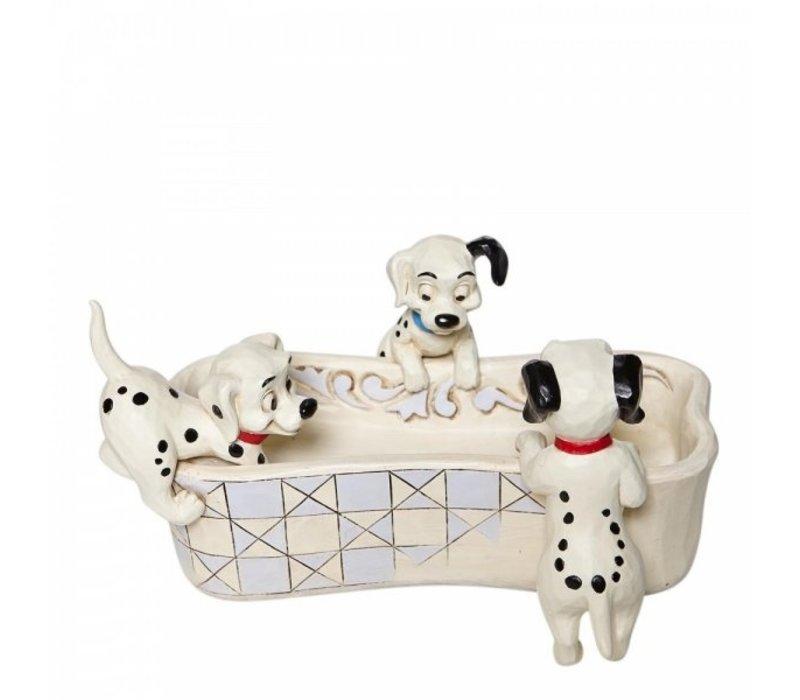 Disney Traditions - Puppy Bowl (101 Dalmatians Bone Shaped Dish)