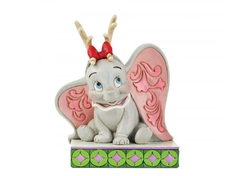 Disney Traditions Santa's Cheerful Helper (Flying Dumbo as a Reindeer) - Disney Traditions