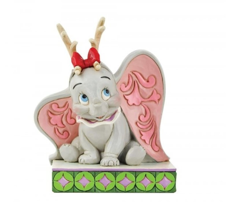 Disney Traditions - Santa's Cheerful Helper (Flying Dumbo as a Reindeer)