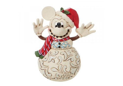 Disney Traditions Snowy Smiles (Mickey Mouse Snowman) - Disney Traditions
