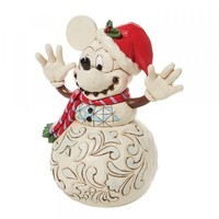 Disney Traditions - Snowy Smiles (Mickey Mouse Snowman)