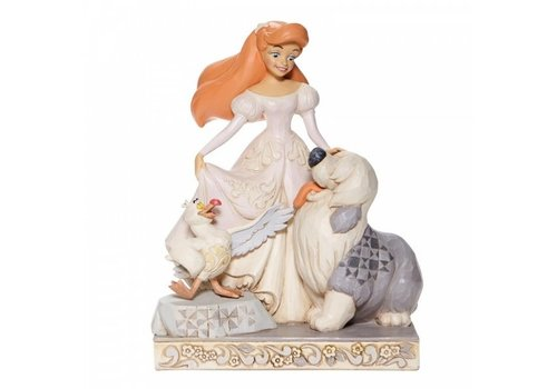 Disney Traditions Spirited Siren (White Woodland Ariel) - Disney Traditions