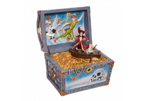 Disney Traditions Treasure strewn Tableau (Peter Pan Flying Scene) - Disney Traditions