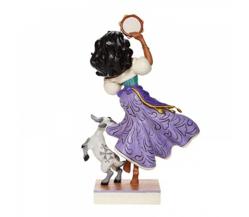 Disney Traditions - Twirling Tambourine Player (Esmeralda and Djali)