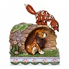 Disney Traditions Disney Traditions - Unlikely Friends (Fox and Hound Log)