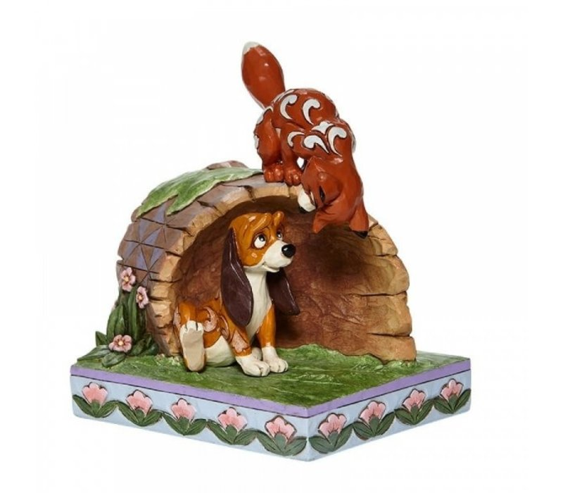 Disney Traditions - Unlikely Friends (Fox and Hound Log)
