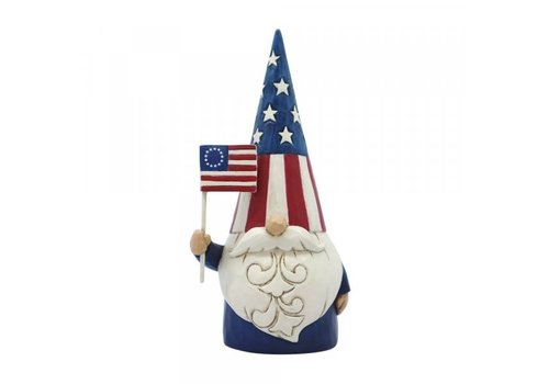 Heartwood Creek Star Spangled Gnome (American Gnome) - Heartwood Creek