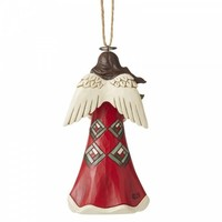 Heartwood Creek - Angel with Wreath Hanging Ornament