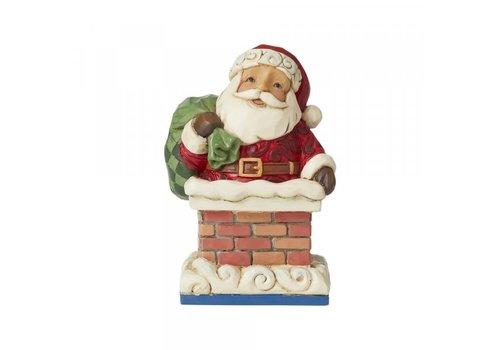 Heartwood Creek Mini Santa in Chimney - Heartwood Creek