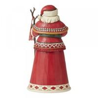 Heartwood Creek - Yuletide Ride (14th Annual Lapland Santa with Reindeer Scene)