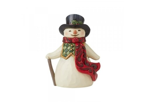 Heartwood Creek Mini Snowman with Long Scarf - Heartwood Creek