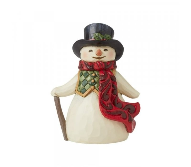 Heartwood Creek - Mini Snowman with Long Scarf