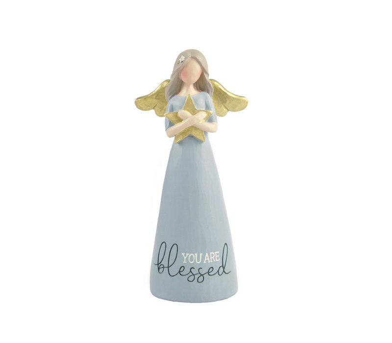 UniekCadeau - You are Blessed (Angel with star)