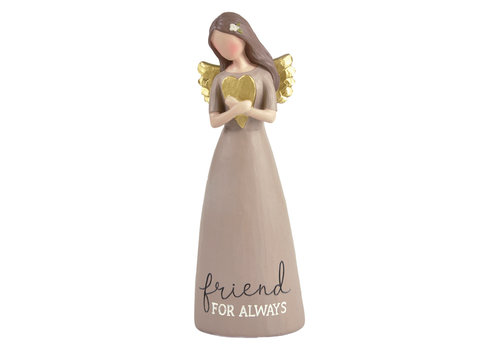 UniekCadeau Friend for Always (Angel with heart) - UniekCadeau