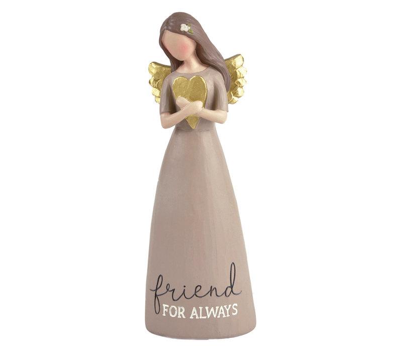 UniekCadeau - Friend for Always (Angel with heart)