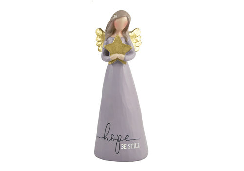 UniekCadeau Hope - Be Still (Angel with star) - UniekCadeau