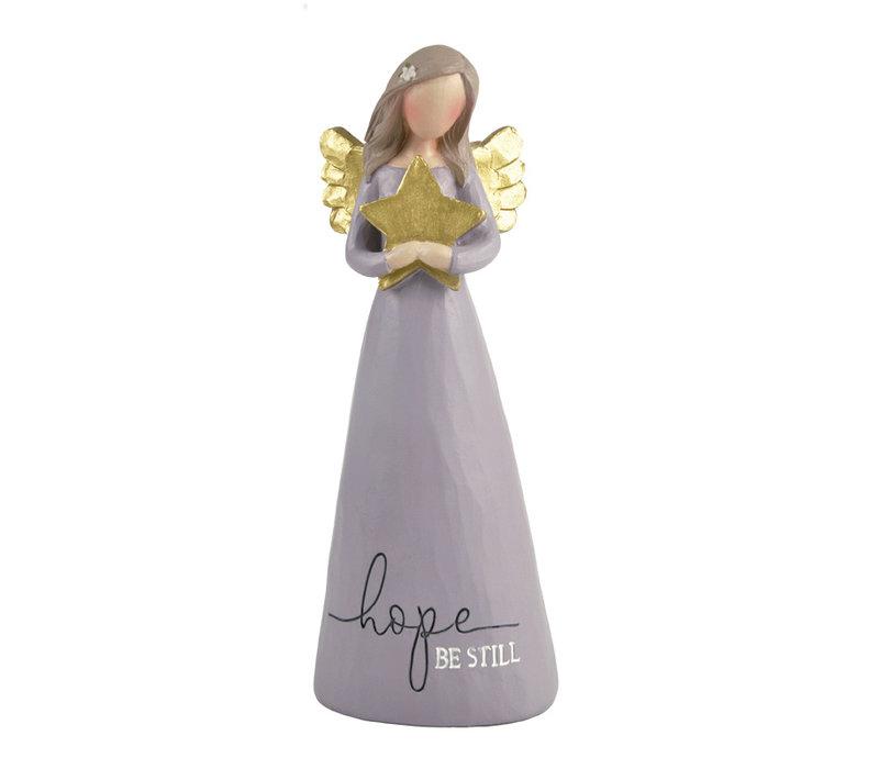 UniekCadeau - Hope - Be Still (Angel with star)