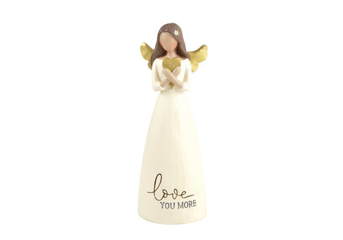 UniekCadeau Love You More (Angel with heart) - UniekCadeau