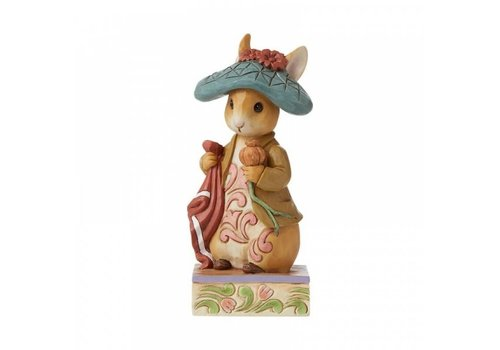 Beatrix Potter Nibble, Nibble, Crunch (Benjamin Bunny) - Beatrix Potter by Jim Shore