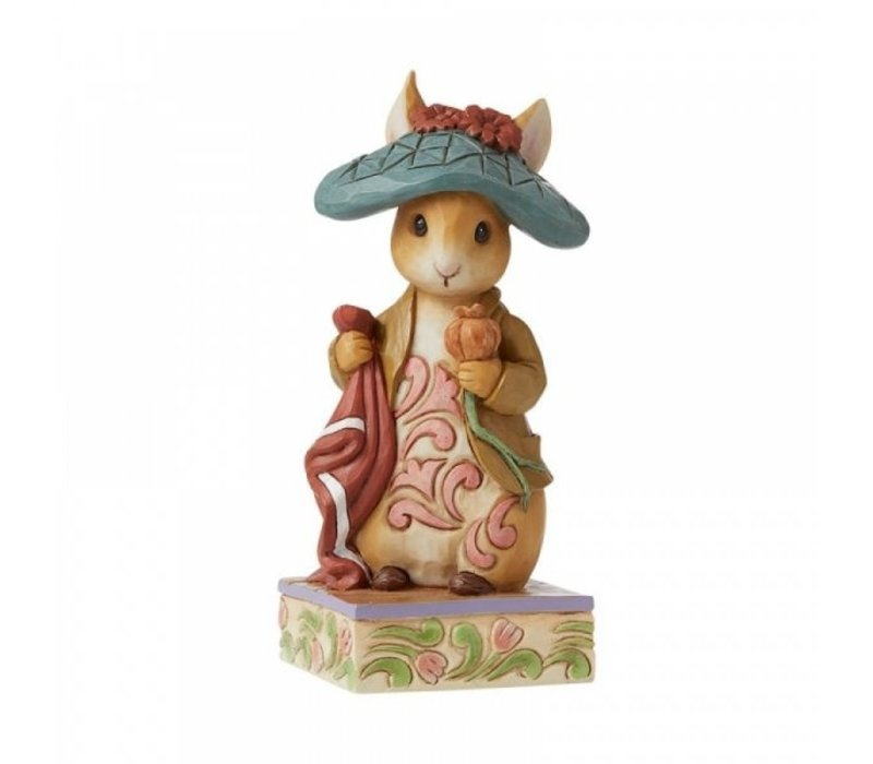 Beatrix Potter by Jim Shore - Nibble, Nibble, Crunch (Benjamin Bunny)