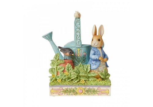 Beatrix Potter Caught in Mr. McGregor's Garden (Peter Rabbit) - Beatrix Potter by Jim Shore
