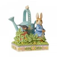 Beatrix Potter by Jim Shore - Caught in Mr. McGregor's Garden (Peter Rabbit)